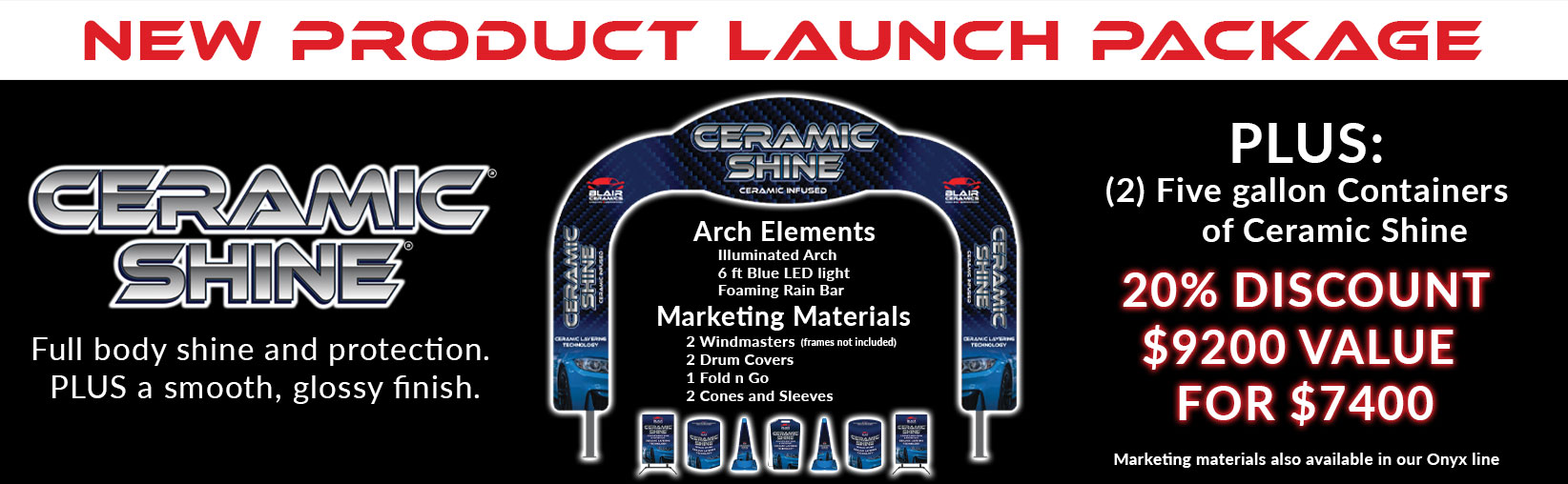 New Product Launch Blair Banner