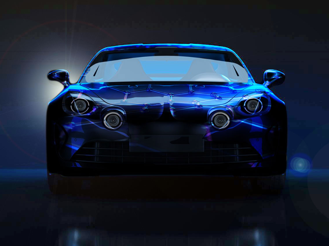 Shiney Car